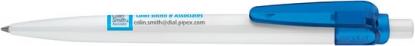 2725 ШР Sunny Basic белый/прозрачный синий